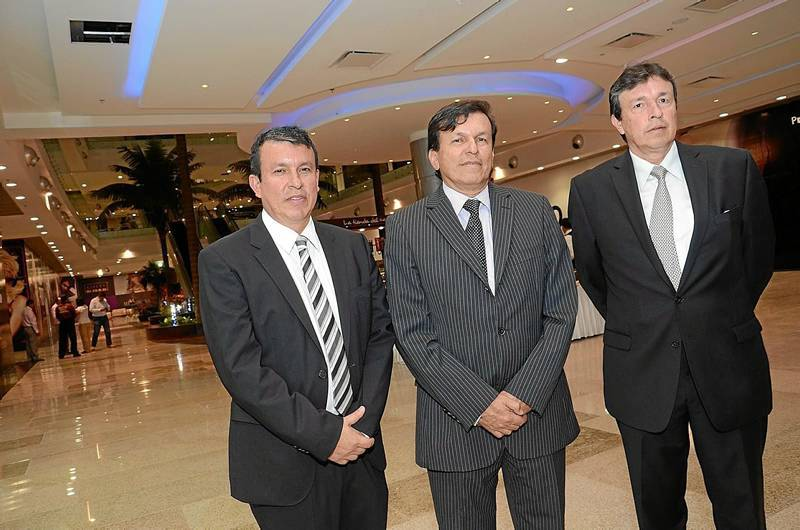 Sergio Marín Valencia, Rafael Marín Valencia y Álvaro Marín Valencia.