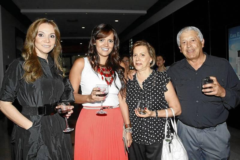 Leidy Bayona, Tatiana Flórez, Isabel de Pardo y Álvaro Pardo