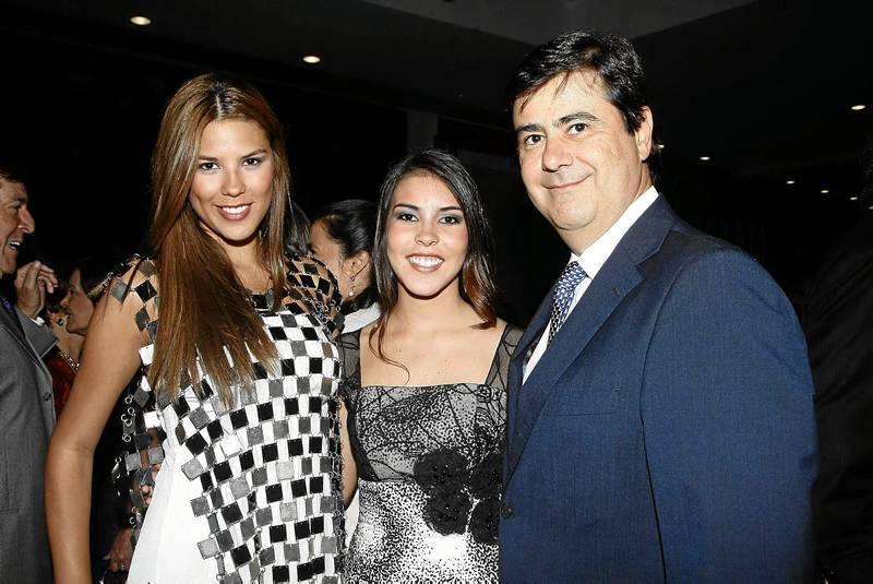 Laura Patiño, Natalia Marín y Jaime García.