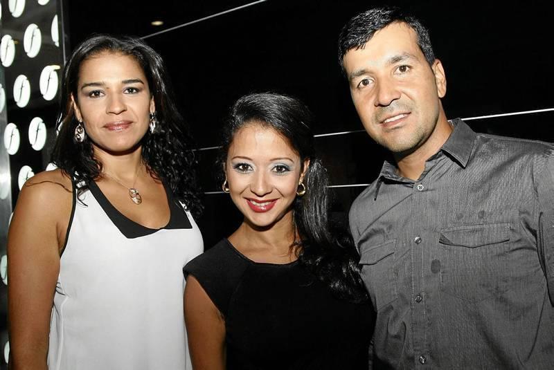 Ximena Pilonieta, Alexandra Galezo y Yimy Gutiérrez.