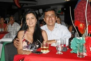 Patricia Velandia y Alfonso Villalobos.