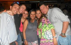 Javier Corzo, Leonardo Moreno, Claudia Carvajalino, Elena Laguado, Yenny Hernández y Fredy Barajas.