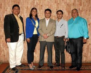 Rodolfo Delgado, Angélica María Reyes Sánchez, Juan Pablo Leal, Juan Pablo Moncada y Jorge Alberto Lamos
