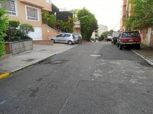 Esta es la carrera 49 entre calles 53 y 54.