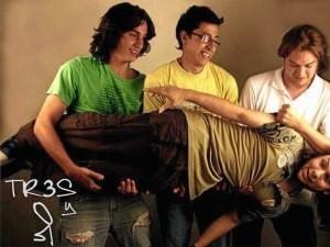 La banda Tres y Yo estará también en Bucaramusic 2012.