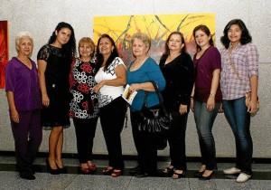 Rosario Pérez, Yovanna Uribe, Olga Celis, Omaira Jaimes, Sandy García, Amalia Ri-vera, Sandy Parra y Natalia Mendoza.