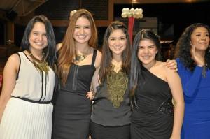 María Camila Rodríguez Plata, Guadalupe Orjuela Ayala, Paula Andrea Castellanos Nieves y Bibiana Carolina Quintero Pimentel.