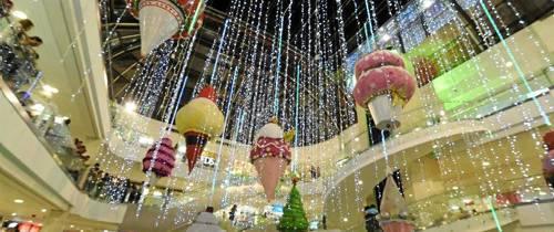 Visitar la iluminación navideña ¡el mejor plan!