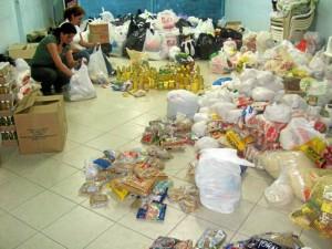 El año pasado en junio el MPPC recogió ayudas para los damnificados del invierno en Tona. (Foto suministrada MPPC).