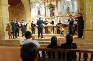 Orquesta Filarmónica de Santander, dirigida por Eduardo Berrío.