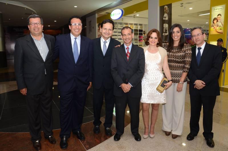 Elias Boero, Orlando Rincón, Sergio Ollarte, Lázaro Calderón, Claudia Avello, Claudia Corzo y Luis Ríos.