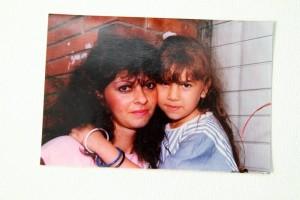 Algunas fotos de su juventud y niñez.