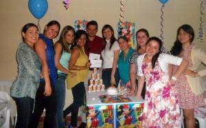 Angélica Serrano, Mónica Arias, Angélica Pedraza, Elena Laguado, Marlon Delgado, Lady Lizcano, Edna Díaz, Maris Rodríguez, Diana Pinto y Yolanda Vásquez.