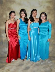 María Alejandra Camargo Aparicio, Daniela Smith Muñoz Paredes, Brigith Xilena Tarazona Buenahora y María Paula Novoa Hernández.
