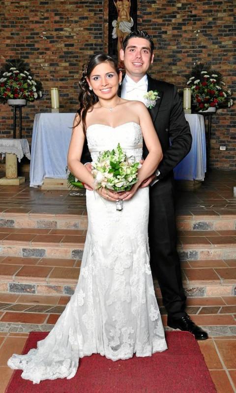 Juan José Serrano Calderón y Julie Carolina Omaña García