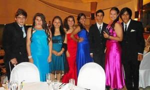 J. Luis García, Claudia Medina, Ángela Galvis, Paula García, Da-niela Vega, Andrés F. Galvis, Laura González y Luis Forero.