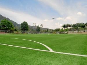La segunda cancha sintética de Comfenalco fue inaugurada con el Primer Torneo Nacional de Fútbol Sub 17.