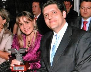 María Elisa Sierra y Javier Roncancio Rachid.