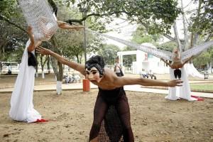 Eugenio Cueto es bailarín profesional de danza contemporánea y ganó una beca de estímulo del IMCT.