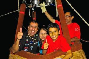Fernando Gómez Flórez ha dedicado buena parte de su vida a volar parapente.