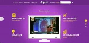 En el sitio web www.apps.co hay más información sobre la convo-catoria.