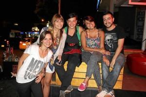 Carol Salcedo, Andrea Arciniegas, Jesica Suba, Laura González y Jorge Andrés Rex. (Fotos por Mauricio Betancourt).