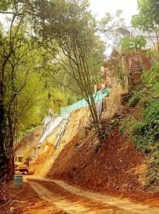 Las obras se iniciaron hace 8 meses en La Floresta.