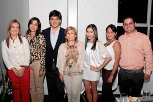Magda Amado, Claudia Peñuela, Javier Quintero, Amparo Arce, Valentina Martínez, Leidy Sarmiento y Felipe Cadena.(Suministrada por Adolfo Herrera).