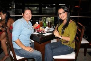 Johana Beltrán y Katerine Ospina. (Suministradas por Mauricio Betancourt).