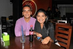 Pedro Cabrales y Carolina Bautista