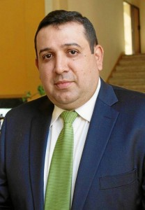 Juan José Rey, secretario de Salud de Santander.