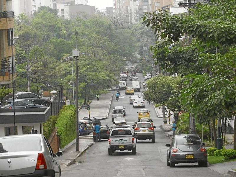 Desde este punto, en la carrera 36, se iniciaría la ampliación de la calle 45, en caso de ser aprobado el estudio del proyecto.