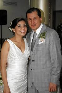 Paola Andrea Durán y Juan Pablo Amaya. (Foto Nelson Díaz).