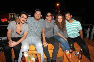 Mario Mojica, Juan Camilo Ariza, Sergio Solano, Angie Gualtero y Ángel Rojas.