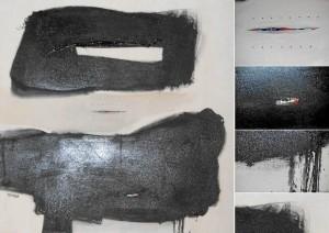 Esta es una de las piezas que el joven José Sánchez expone en La Quinta.