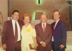 José Freddy Ocampo Chica, Ana Aponte Camargo y sus hijos. (Suministrada).