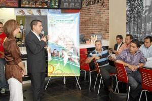 El programa fue presentado ante los medios de la ciudad esta semana, en Burger King.