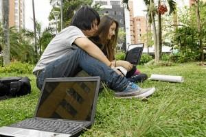 El parque Las Palmas hace parte de los lugares que ahora tienen internet wi-fi.