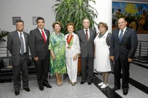 Fabio Betancourt, Guido Gamba, Judith Carvajal, Rosmira de campos, Luis Alfonso Hoyos, Rosa Mary Pineda y Jairo Jaimes Yáñez.