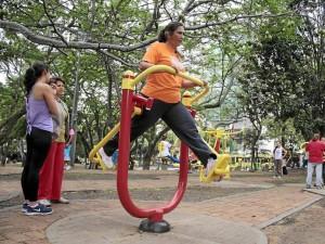 Con la asignación de un instructor se espera orientar a quienes todos los días asisten a hacer ejercicio al parque San Pío.