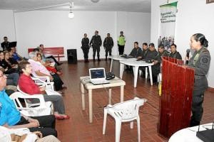 El 1 de marzo fue la graduación de las 19 personas que finalmente conforman el Frente de Seguridad de Cabecera.