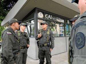 El comandante (e) de la Policía Metropolitana de Bucaramanga, coronel William Boyacá estuvo de cerca en la creación del Frente de Seguridad Ciudadana de Cabecera.