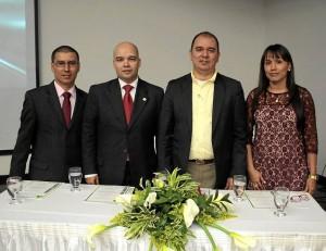José Gregorio Fonseca, Sergio Isnardo Muñoz, Fernando Dueñez y Magda Milena Flórez.