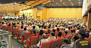 Junto con el escenario de la Unab estuvieron nominados Expo-futuro (centro de eventos de Pereira), Clínica Saludcoop, Gim-nasio Colombo Británico, Colegio Anglo Colombiano y la segun-da fase del Aeropuerto Eldorado (Bogotá).