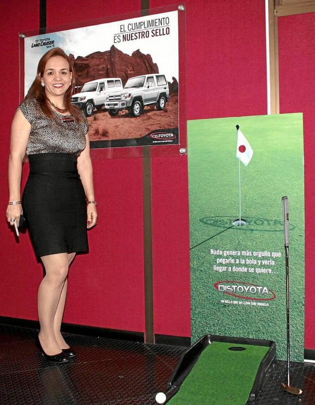 Adriana Franco López, gerente de Distoyota Bucaramanga.