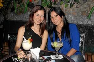 Diana Carolina León y Alba Rojas.