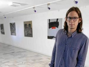 José Sánchez expone estos días en el IMCUT.
