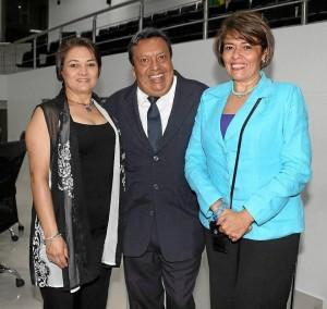 Claudia Patricia Hernández, Diego Rivera y Janeth Eu-genia González.