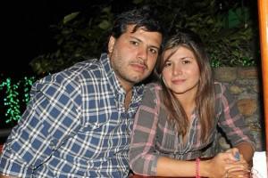 Oscar Portillo y Ana Mar-ía Bahamón.
