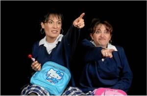 Katherine Vélez y Marcela Benjumea protagonizan 'Conntusas'.